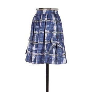 Anthropologie Aline Skirt with Bow Pockets